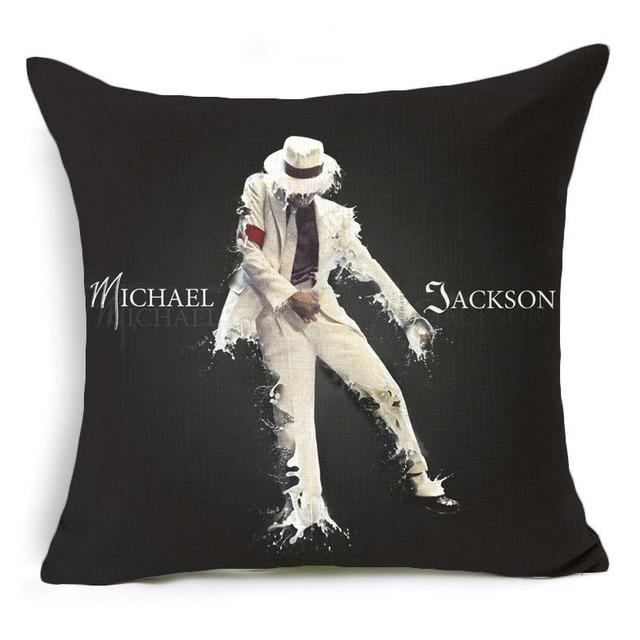 Taie d'oreiller classiques Intemporels Super Idol Michael Jackson