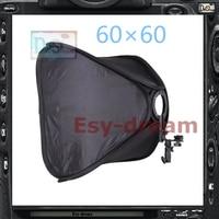 60*60 Photo Studio Square Foldable Softbox Soft Box For Canon Nikon Metz Nissin Yongnuo Flash Speedlite PS106