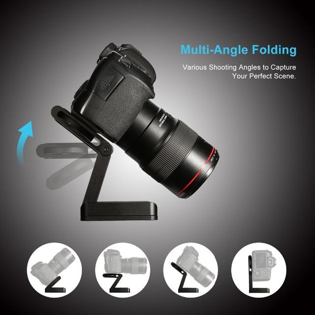 Professional Camera Tilt Aluminum Folding Z Tripod BRACKET Head Solution Photography Studio