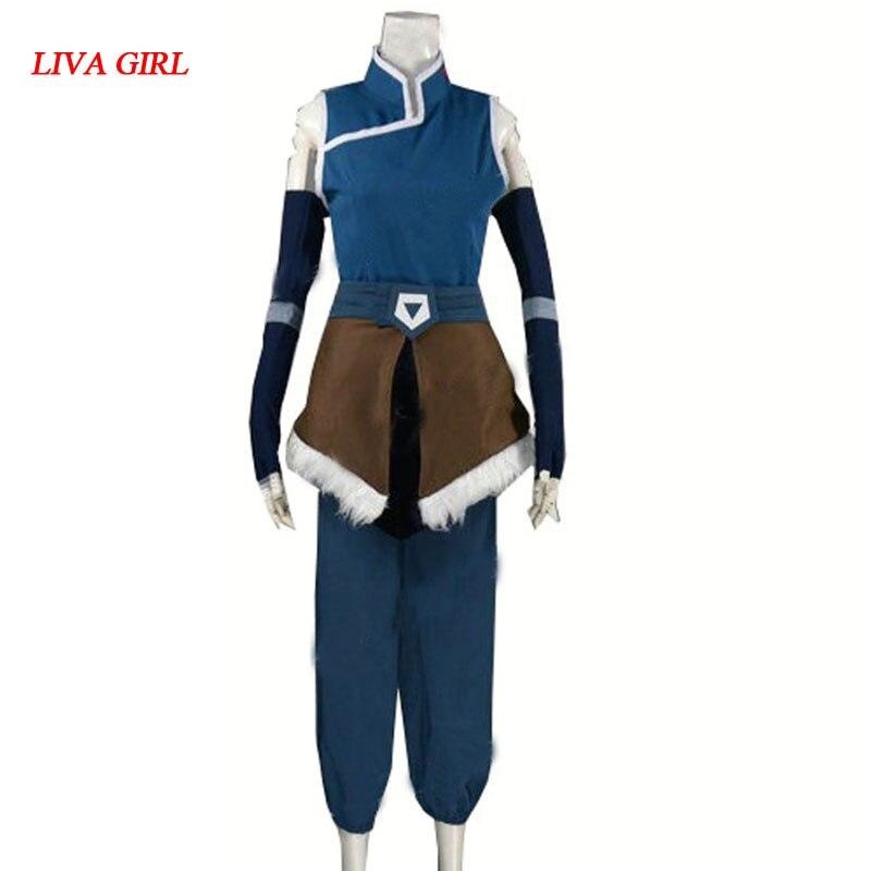 2017 Legend of Korra Cosplay Costume Season 4
