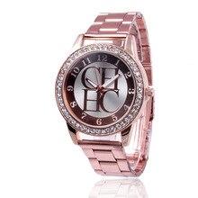 Women Watch Top Brand Luxury Crystal Rhinestone Watch Women