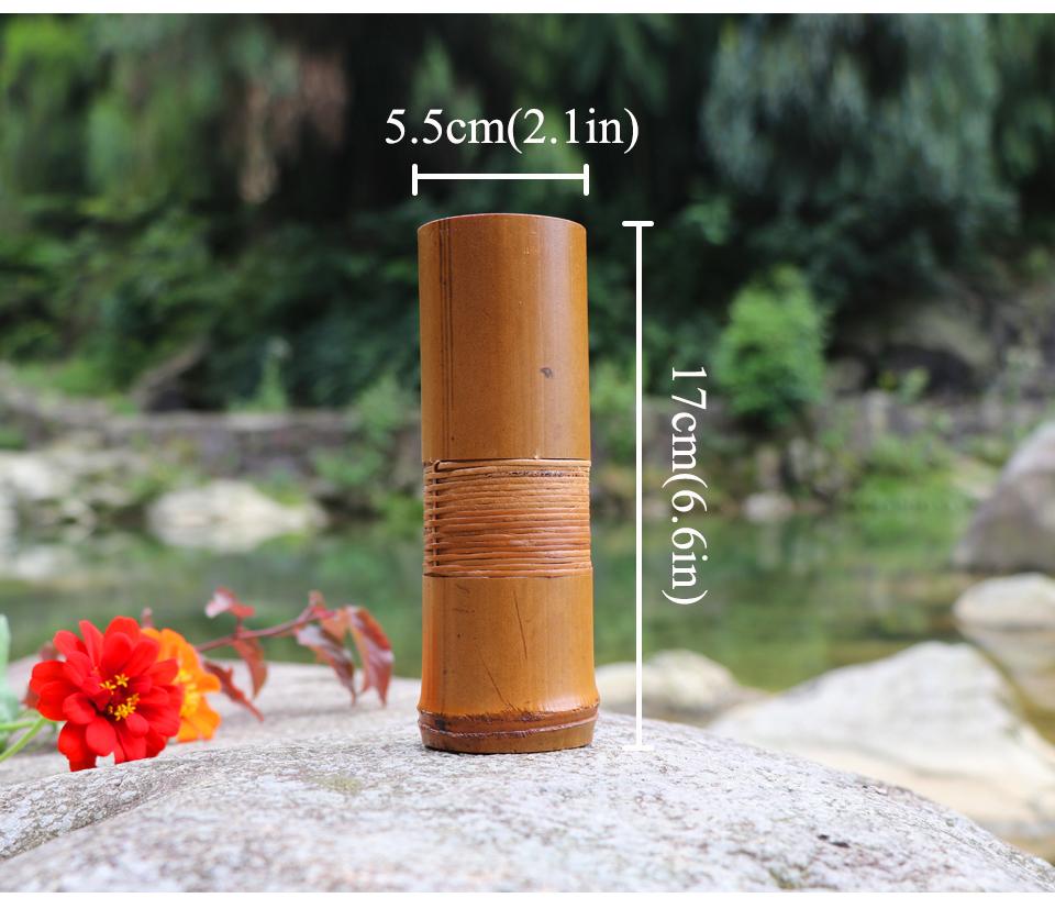 Japanische Bambus Blumenvase Fur Haus Dekoration Handgemachte