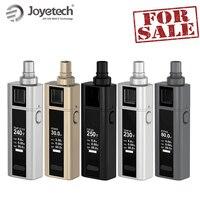 Hot Original Joyetech Cuboid Mini Kit 80W 2400mah Battery 5ML Atomizer Capacity Temperature Control Spiral Mouthpiece