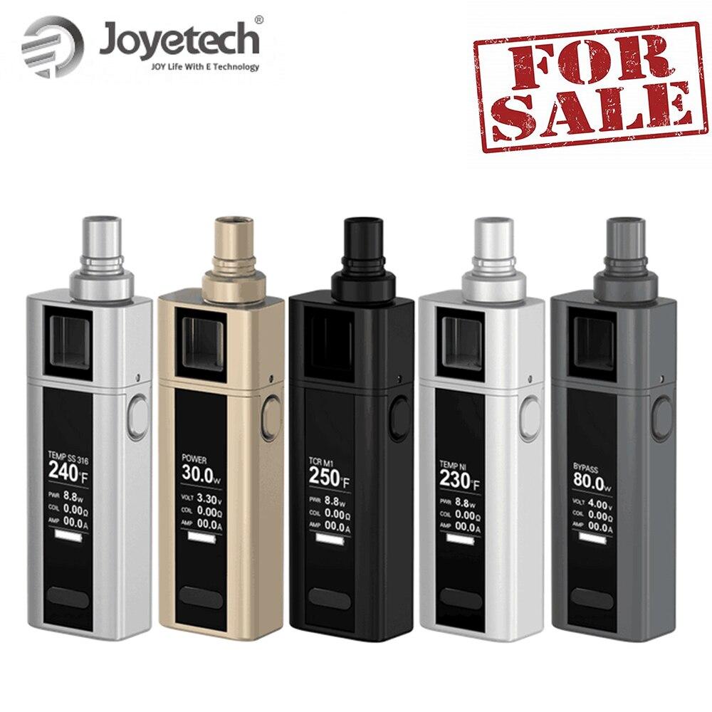Heißer! Original Joyetech Quader Mini Kit 80 W 2400 mah Batterie 5 ML Zerstäuber Kapazität Temperatur Control Spirale Mundstück auf Verkauf