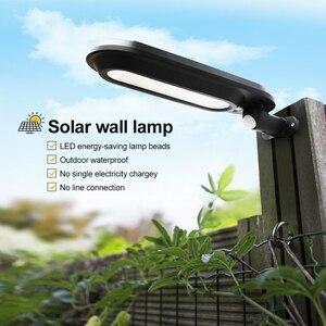 Image 5 - Lámpara Solar LED de 500LM para exterior, 18 luces LED de 500LM para jardín, impermeable, con sensor humano, luz de pared de seguridad de emergencia Solar