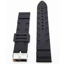 2016 Hot Universal Gummi Link Armband 22mm 24mm Silikon Armband Fit Für Apple Uhr Moto 360 42mm Smartwatch