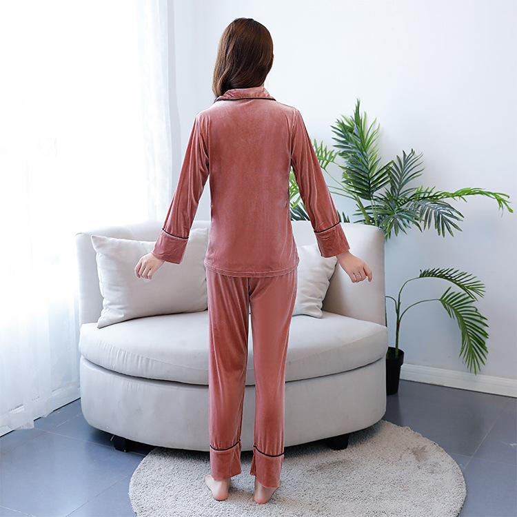 02a3945570 Nuevo conjunto de Pijamas de Mujer de marca de gama alta de ...