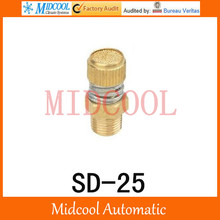 SD-25 SD Type of Timing Muffler Pneumatic components solenoid valve deadened the noise of the silencer