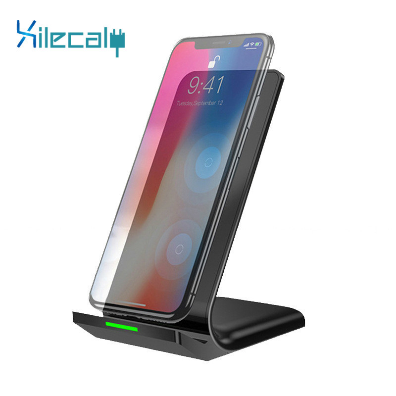 Charging-Pad 9-Charger Xiaomi Mi Qi-Stand Samsung S8 IPhone X Wireless 1 For XS XR 10W