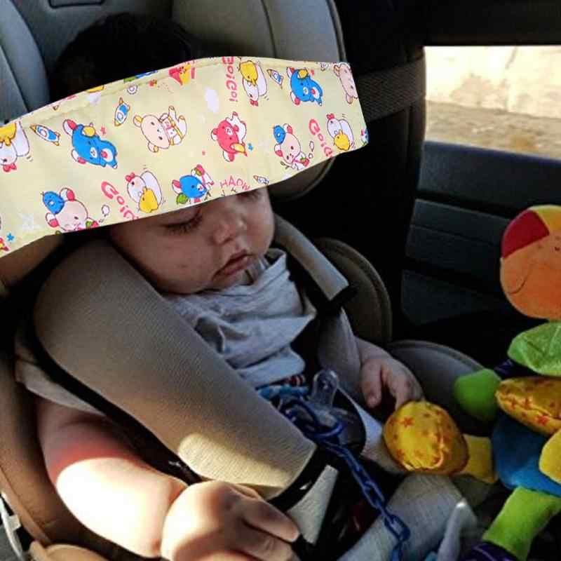 Baby Veiligheid Kinderwagen Autostoel Slaap Dutje Hoofd Band Bescherming Baby Stoel Hoofdsteun Slapen Ondersteuning Houder Baby Auto Accessoires