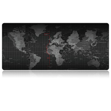 Mouse Pad with World Map Pattern