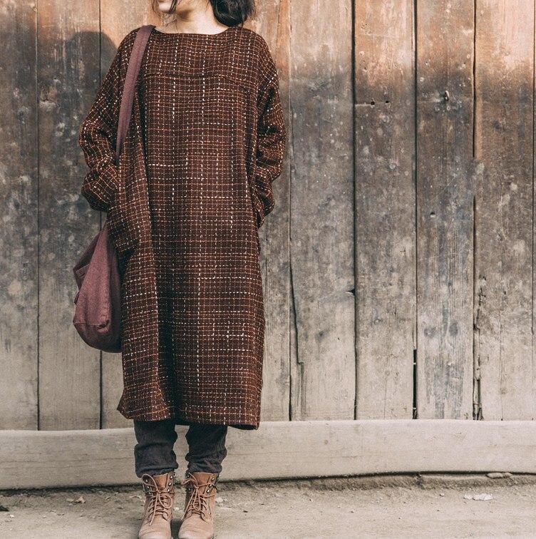 Chantiers Conception Laine Vêtements Grands Lâche 2016 Loisirs Robe Originale Printemps Au La De Produit Sacs 8wxOvnzX0q