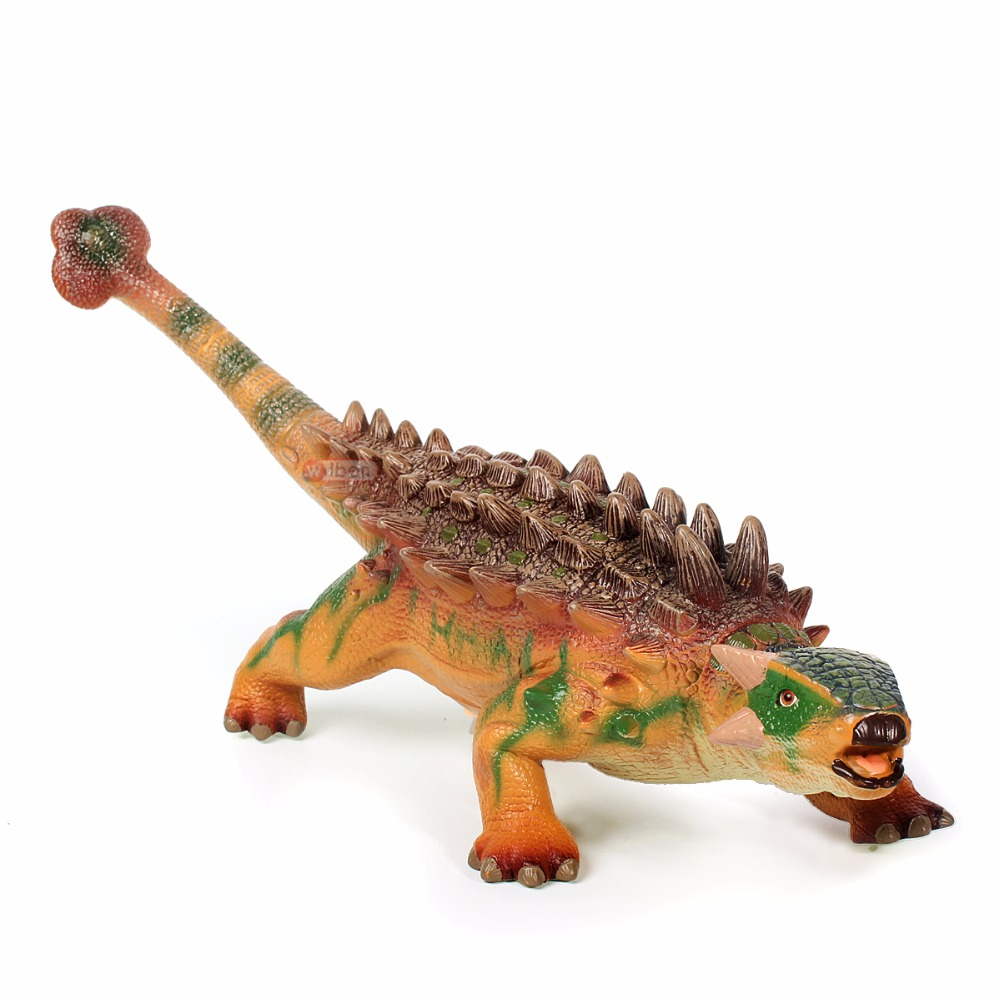 New Large Ankylosaur Dinasour Realistic Reptile Model Action Figure