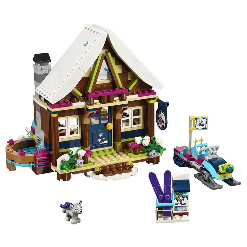 ZXZ 01040 Friends Girl Princess Series 514pcs Building Blocks Toy Snow Resort Chalet Kids Bricks Toy Girl Gifts Legoings 41323 lepin 01040 friends girl series 514pcs building blocks toys snow resort chalet kids bricks toy girl gifts lepin bricks 41323