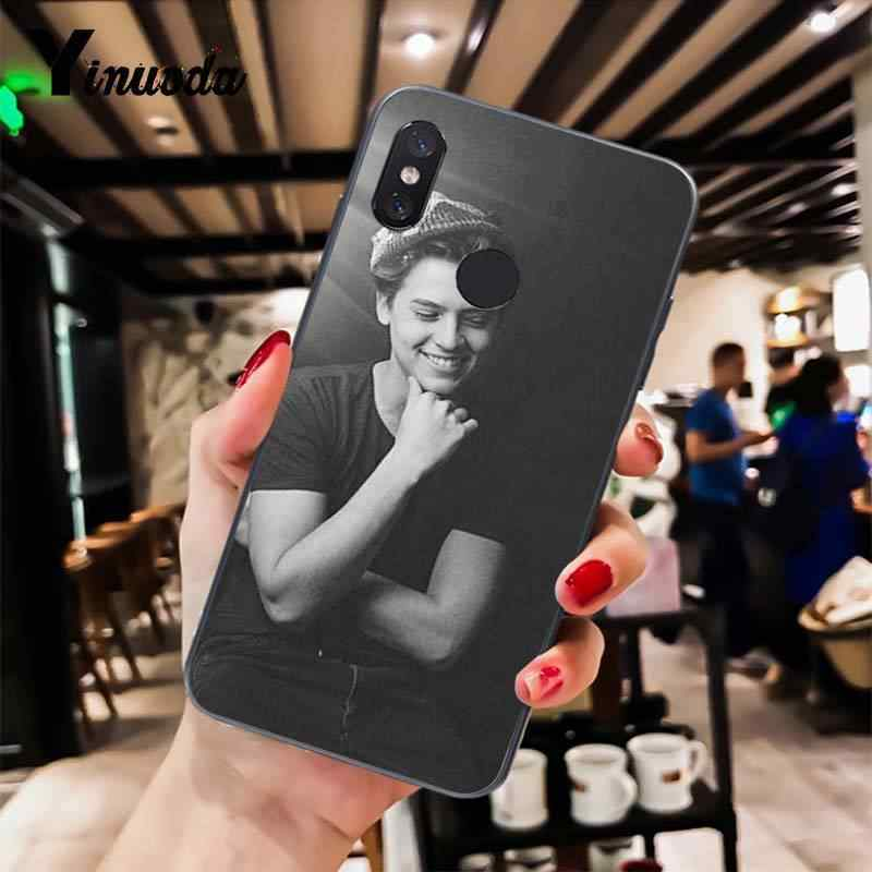 Yinuoda Riverdale Series Cole Sprouse Trendy Phone Case for Xiaomi Mi 6 Mix2 Mix2S Note3 8 8SE Redmi 5 5Plus Note4 4X Note5
