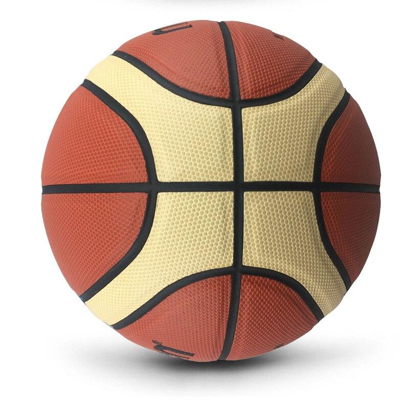 Оптом или в розницу новый бренд высокого качества Баскетбольный мяч PU Materia Официальный Размер 7/6/5 Баскетбольный мяч бесплатно с сетчатой сумкой + иглой-3