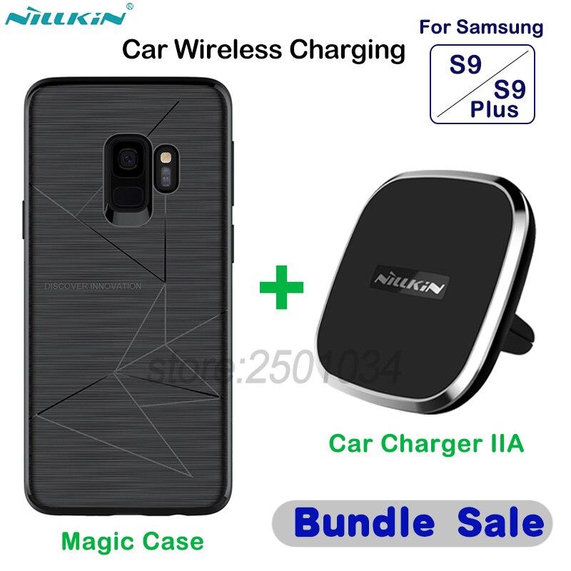 NILLKIN Car Magnetic font b Wireless b font font b Charger b font Pad Car font