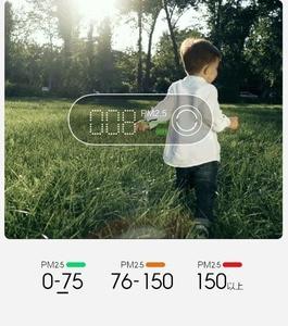 Image 5 - Smartmi PM2.5 Air Detector Portable Sensitive Air Quality Tester LED Screen Three color Digital Indicator
