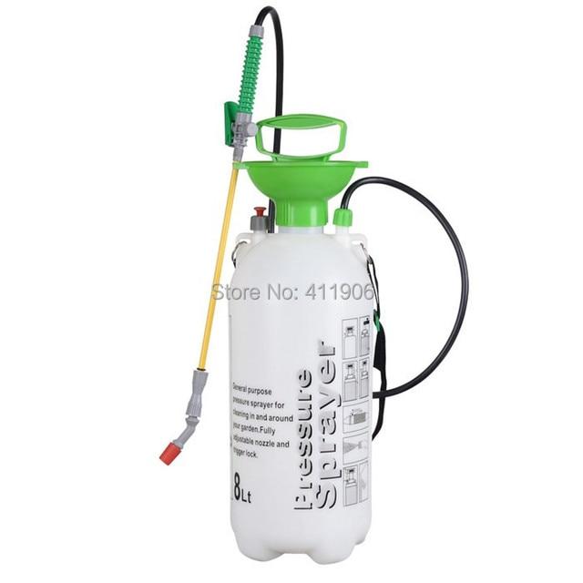 5L 8L Garden Pressure Sprayer Knapsack Weedkiller Chemical Fence Water Spray Bottle Free Shipping