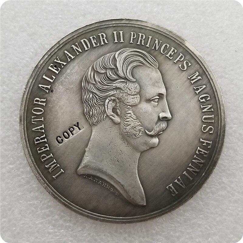 Tpye #63 Российская памятная медаль копия памятных монет Реплика монет медаль коллекционные монеты|Безвалютные монеты|   | АлиЭкспресс