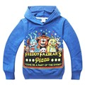 Children's T-shirt Five Nights at Freddys Kids sport clothes baby Boys clothes Long sleeve Autumn style Cartoon Hoodies 2016 New