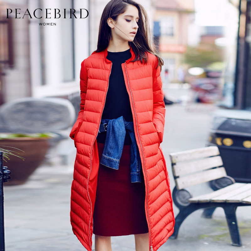 2015 New Hot Winter Thicken Warm Woman Down jacket Coat Parkas Outerwear Straight Removable Sleeve Luxury Long Plus Size L Brand