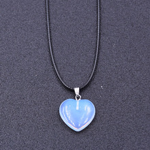 2019 popular Crystal Necklaces Heart-shaped Pendant Necklace  For Women&Men friend Fashion Jewelry charm gift surprise Bijoux цена