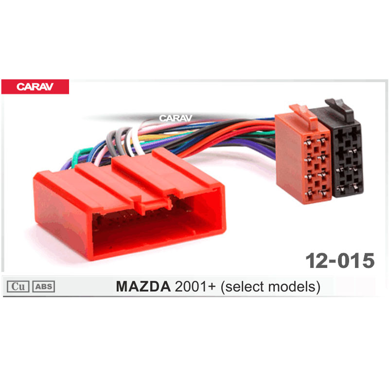 Carav 12 015 Iso Radio Adapter For Mazda 2001   Select
