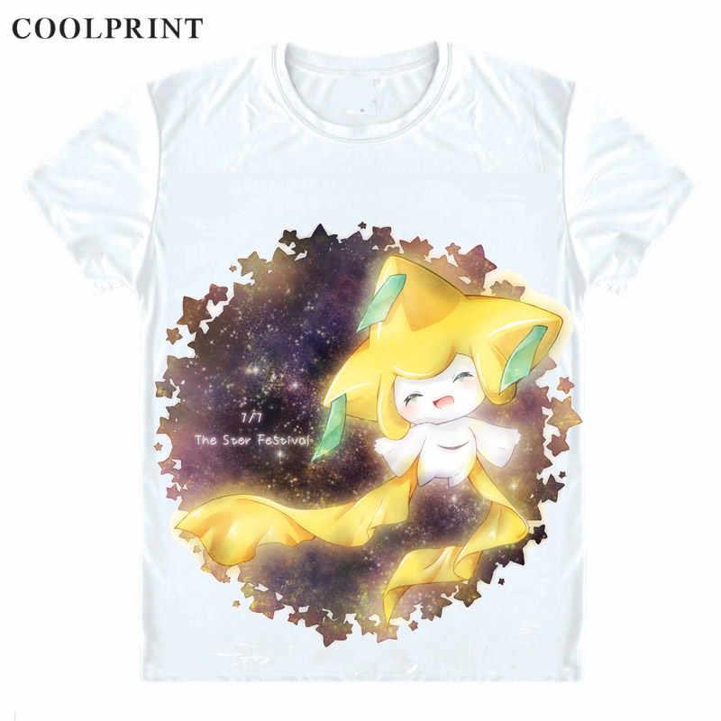 c4406c9f ... Jirachi Dragon Legendary T Shirt Pokemon Pocket Monsters Poketto  Monsuta Men Casual TShirt Premium T- ...