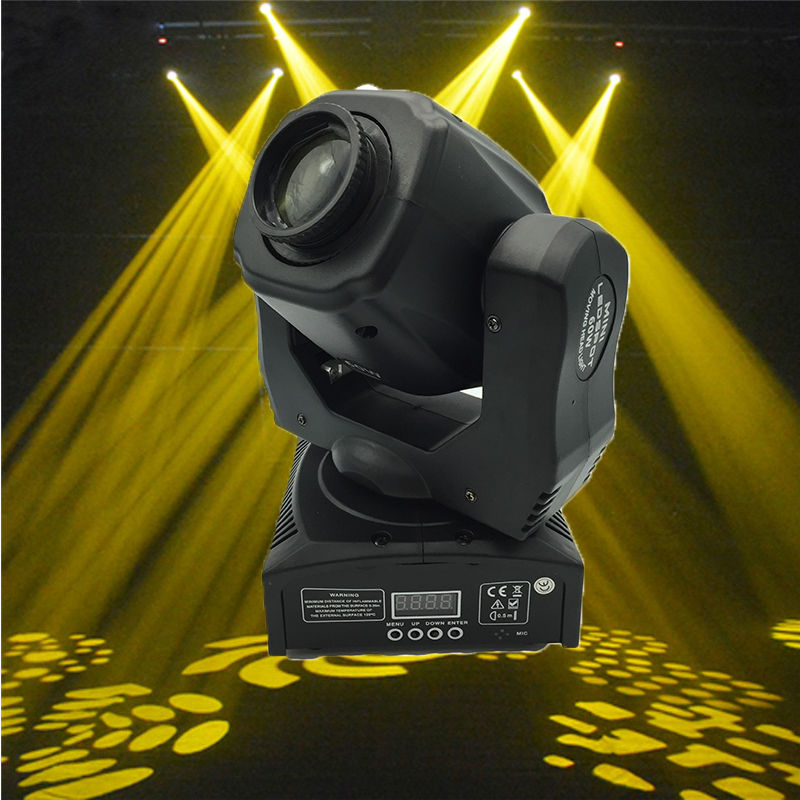 (1 pieces/lot) 60w led spot moving head light led gobo light 60w dj lights 4 pieces lot moving head 30w gobo led lighting spot light dj set gobo christmas lights dj light projector for bar party event