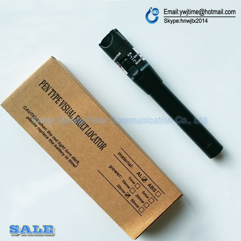 10PCS FTTH tool optical laser Pen VFL 30mW 30km fiber optic visual fault locator fiber optic