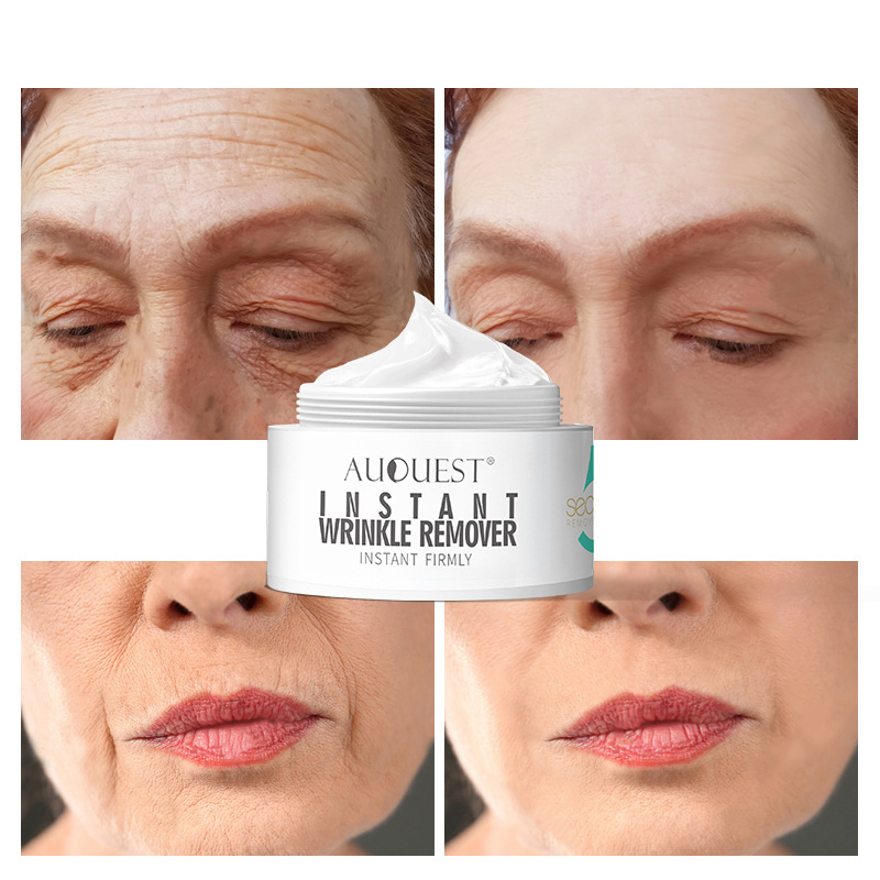 AuQuest 20g Beauty Face Cream 5 Seconds Wrinkle Remover Anti Aging Moisturizer Instant Firming Facial Skin Care Product 2