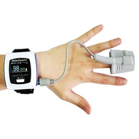 with extra oximeter probe CE and FDA approved CMS50F fashion portable finger tip USB wrist Pulse rate meter wrist watch