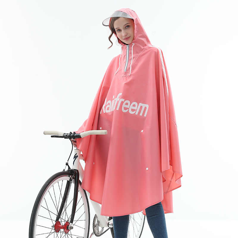 Дождевик-пончо для велосипеда, Оксфорд, походная рыбалка, дождевик, непромокаемые дождевики нового дизайна