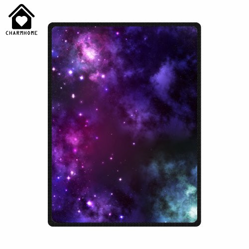 Sofa Fabric Protection Charmhome Custom Galaxy Space Universe Flannel Fleece