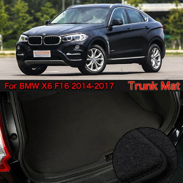Nylon Fabric Washable Car Trunk Cargo Liner Carpet Mats For Bmw X6