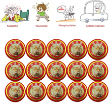 30pcs summer cooling oil Chinese Tiger Balm Red Refresh Oneself Treatment Of Influenza Cold Headache  Relax Essential Oil