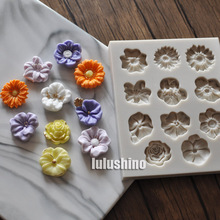 Flower Fondant Moulds 126
