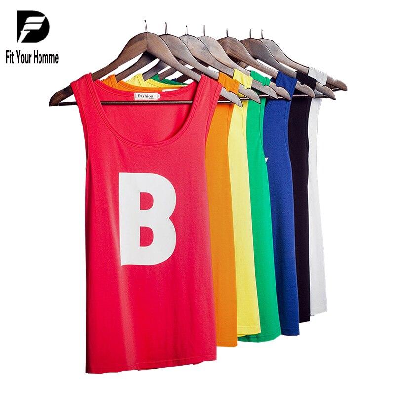 9c9ddfb37 Hombres chaleco verano nuevo Tank Top hombres camiseta marca hombres  chaleco bodybuilding ropa hip hop singlets hombres sin mangas