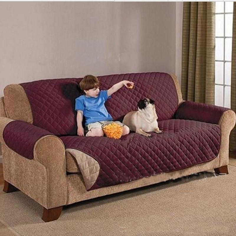 Single Double Pet Sofa Protector Non Slip Waterproof Puppies Small Large  Dog Cats Animals Sofa Cushion Bed Mats For Chihuahua