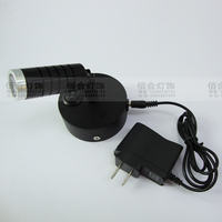 NEW XXB1 Rechargeable Battery Lamp Comes With Wireless Power Setting Wall Light Grid Shop Street Lamp