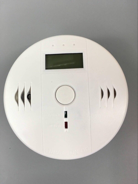 LCD CO Sensor Work alone Built-in 85dB siren sound Independent Carbon Monoxide Poisoning Warning Alarm Detector