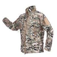 511 tactical Men Tactical Camouflage Jacket Coat Outdoor Sport Hunting Clothes Jacket Soft Shell Windbreaker Jacket