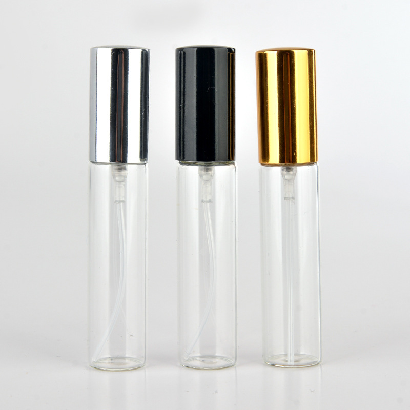 10ml empty glass spray bottle small empty cosmetic containers portable travel refillable perfume atomizer 6pcs 1oz 30ml amber glass spray bottle w black fine mist sprayer refillable essential oil bottles empty cosmetic containers