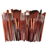 MAANGE Pincel Maquiagem 22pcs Cosmetic Makeup Brush Blusher Eye Shadow Brushes Set Kit Q70918 RTT