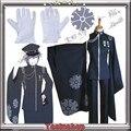 Vocaloid Senbon Zakura SenbonZakura KAITO Cosplay Costume Full Set Any Size Can Be Customize For Hallowmas