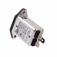 EMI RFI фильтр переменного тока 250 в 10 А CW1D-10A-T подавитель шума линии питания фильтр