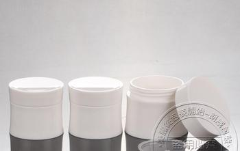 Wholesale,30G Cream Jar,Double Layer,Plastic Cosmetic Container,Screw Cap,Empty Makeup Sub-bottling,Sample Mask Canister