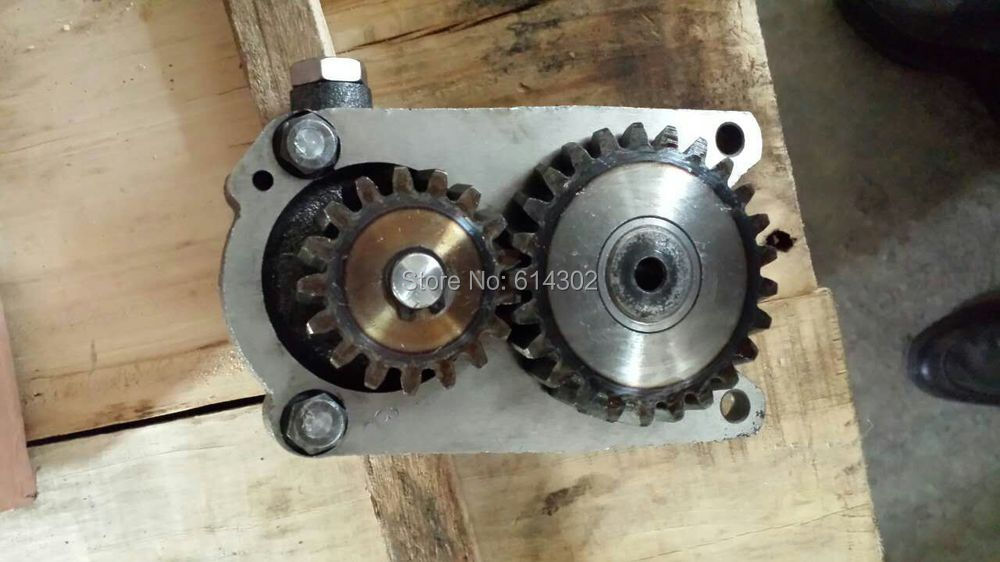 weifang 4102D 4102 P series diesel engine parts oil pump water pump for 495 4100 weifang diesel engine parts