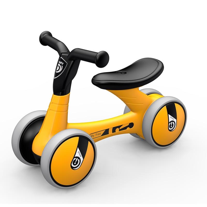 Bébé enfants bambin Trike nouveau infantile premier vélo vélo marcheur pour bébé enfants bébé Balance marcheurs intérieur extérieur muet roue nouveau